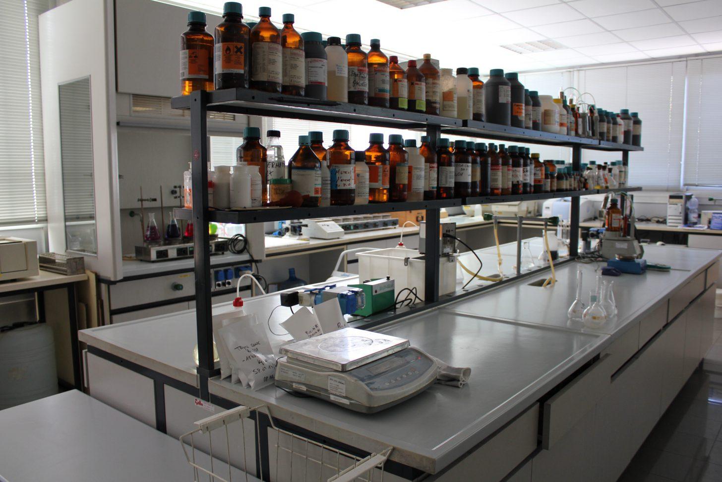 Laboratorio sterilizzato Dermakim